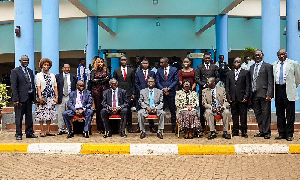 THE INAUGURATION CEREMONY OF THE STUDENT GOVERNING COUNCIL OF THE 16TH KUSA CONGRESS