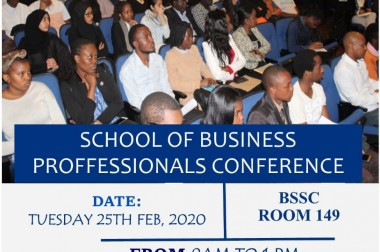 School Of Business Professionals Conference